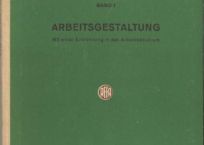 Drittes REFA-Buch Band 1 aussen