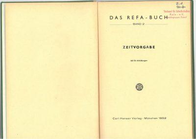 Drittes REFA-Buch Band 2 innen