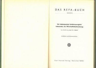Drittes REFA-Buch Band 5 innen