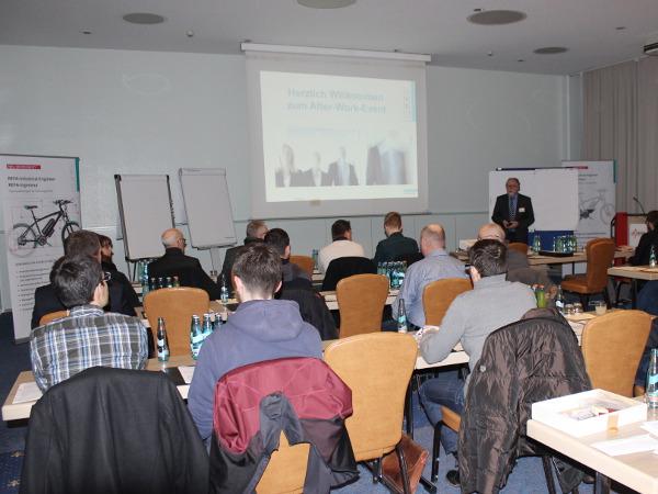 REFA-After-Work.Event: Hans-Joachim Adam vom REFA-Bundesverband