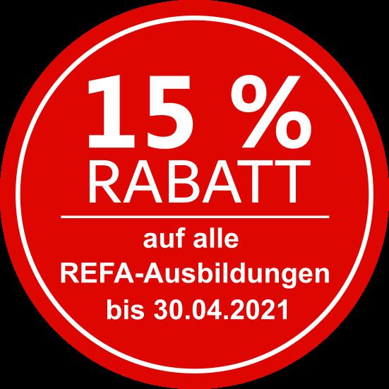 Rabatt REFA-Ausbildungen