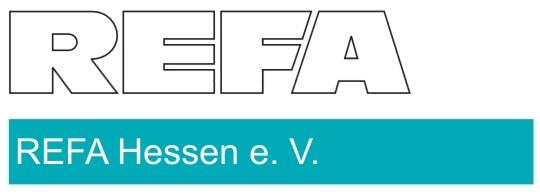 REFA Logo mit Hessen-Hinweis