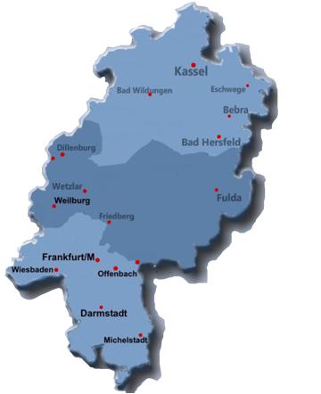 Hessens Regionalverbände