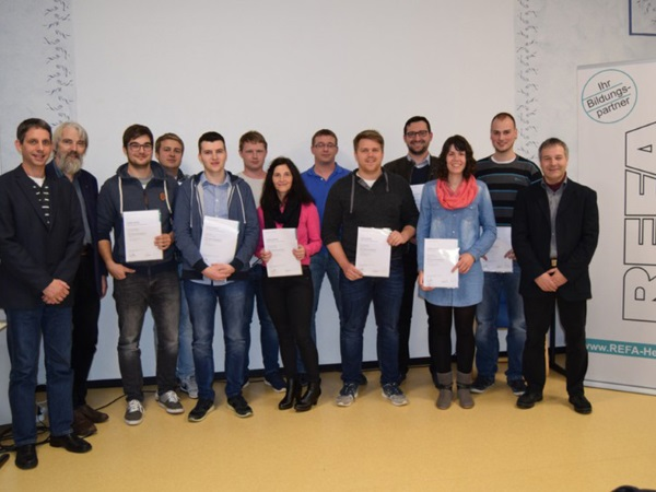 REFA-Zertifikat in Haiger übergeben
