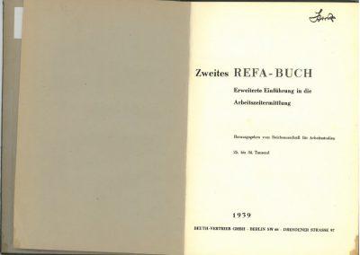 Zweites REFA-Buch innen